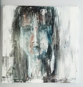 Portret w deszczu